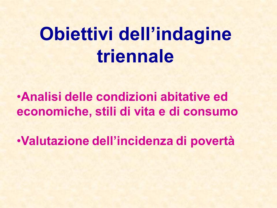 Indagine sulle condizioni di vita a Ferrara nel 2003 Alcune stime di povertà gennaio 2005 Servizio Statistica Comune di Ferrara
