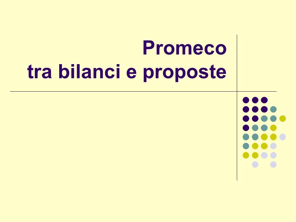 Promeco tra bilanci e proposte