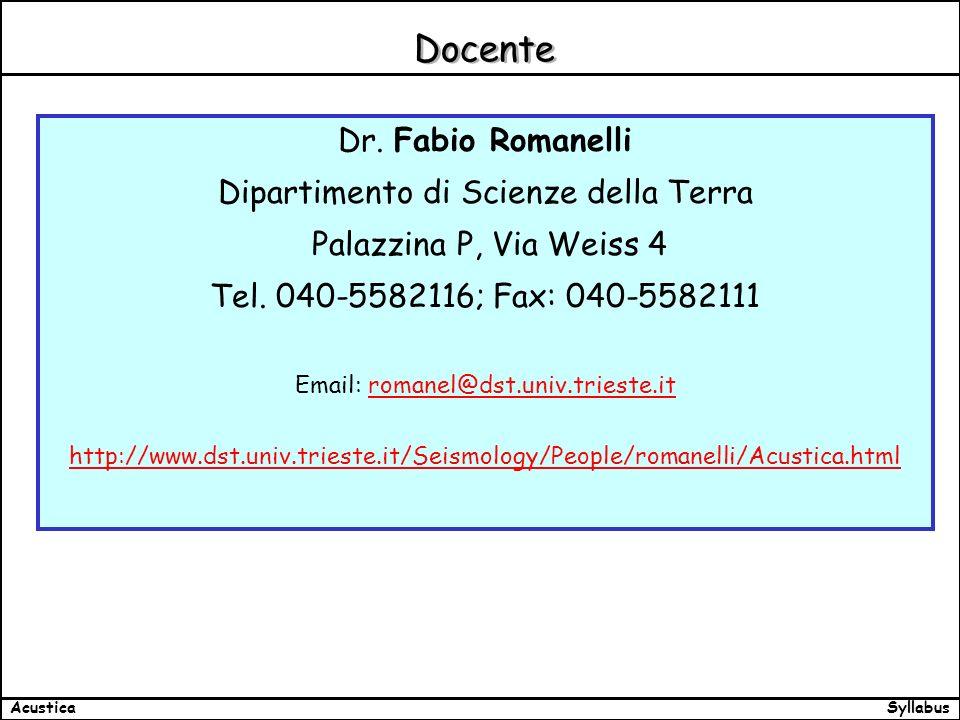 SyllabusAcustica Docente Dr.