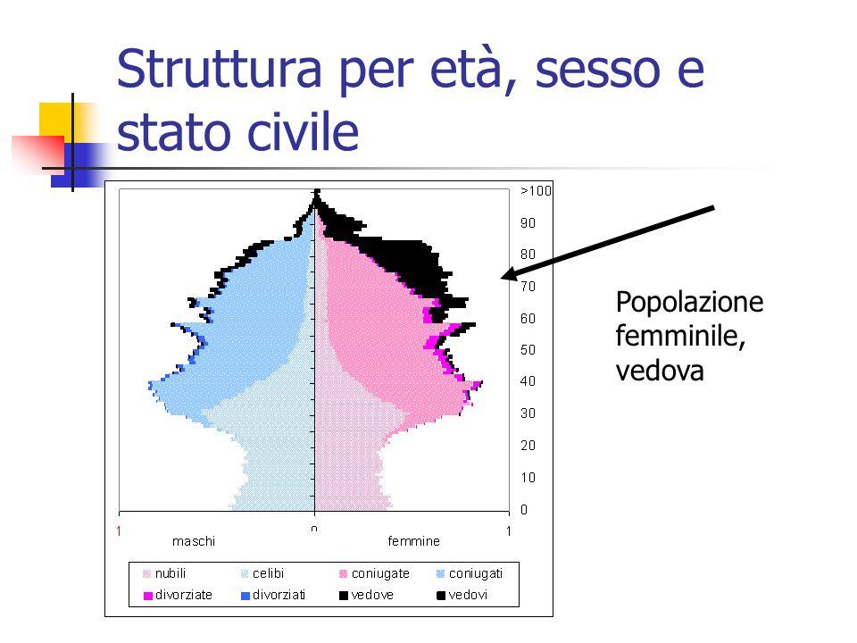 Le tendenze della dimensione della popolazione Variazioni percentuali: 2004-2009: -1,8%2004-2021: -8,1%