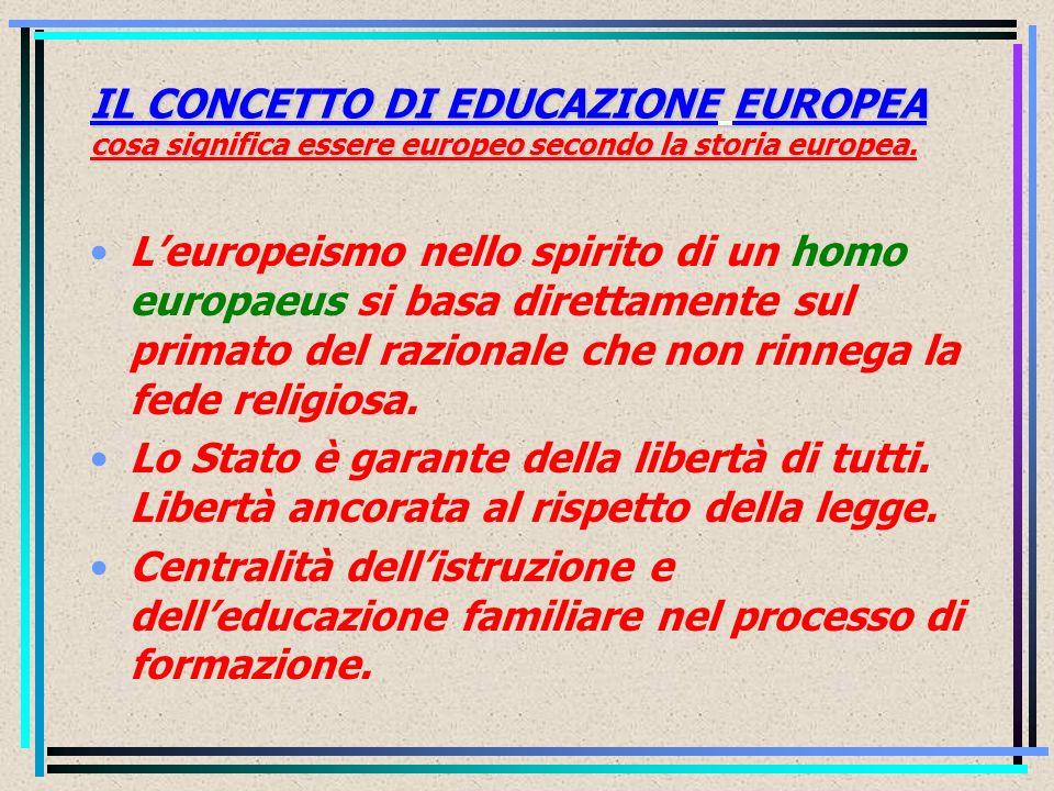 SCUOLA COMUNE EUROPEA Il ruolo della scuola nella costruzione dellidentità europea La scuola comune europea: ipotesi di un curricolo comune.