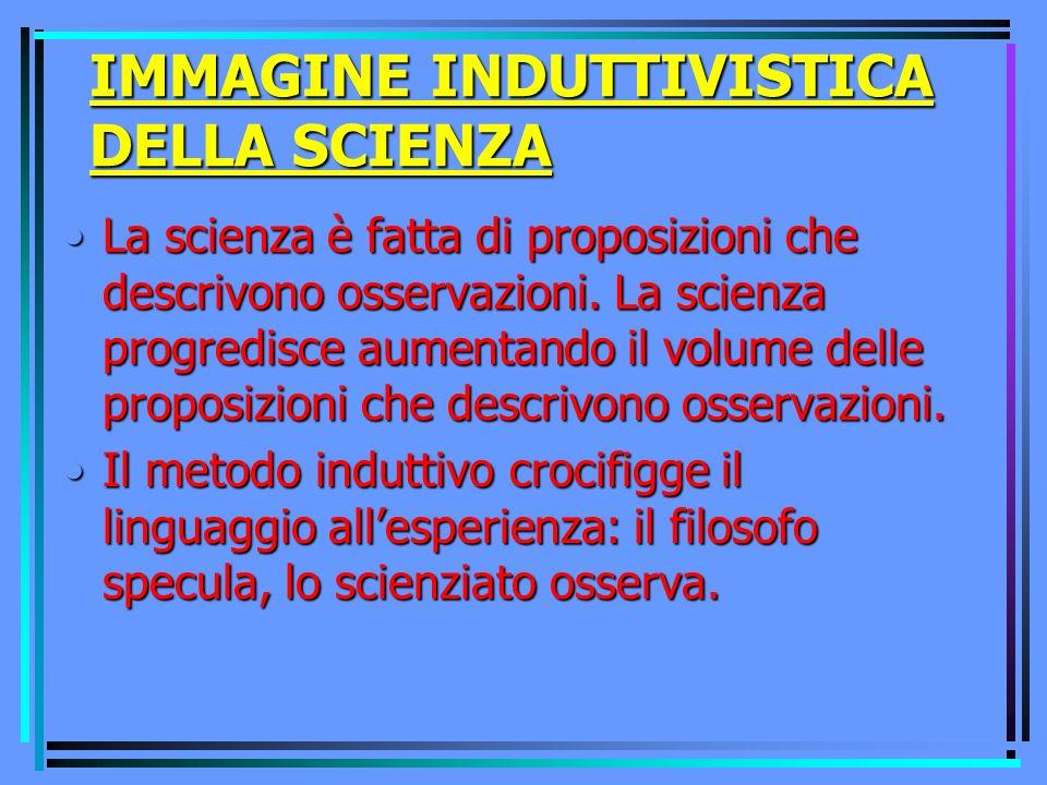 QUESTIONI DI EPISTEMOLOGIA Come possiamo distinguere ciò che è scientifico da ciò che non è scientifico.