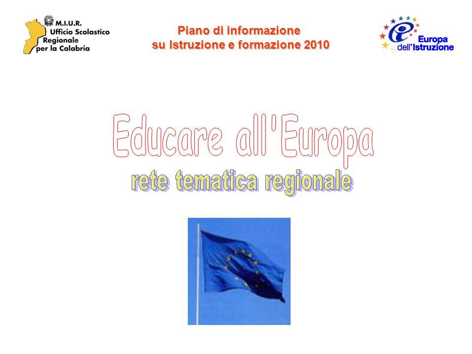 Piano di informazione su Istruzione e formazione 2010