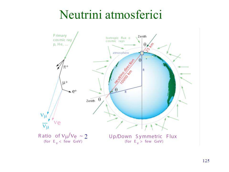 125 Neutrini atmosferici 2