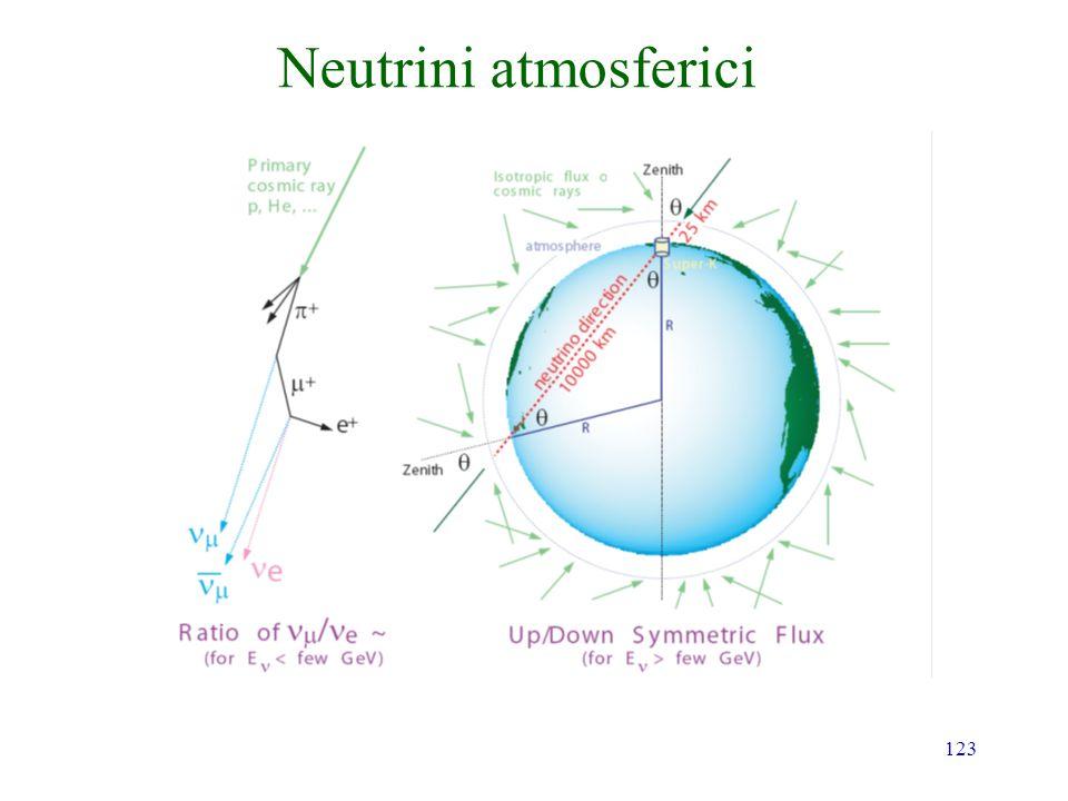 123 Neutrini atmosferici