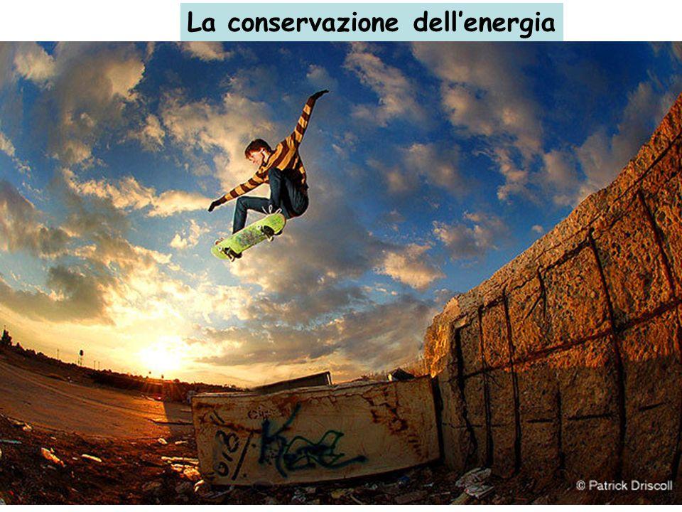 La conservazione dellenergia Se dunque abbiamo un sistema fisico non dissipativo e isolato (es. Terra-Sole), lomogeneità del tempo implica che la lagr