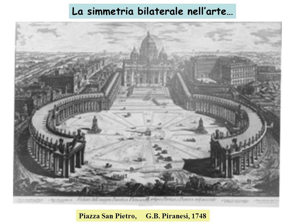La simmetria bilaterale nellarte… Piazza San Pietro, G.B. Piranesi, 1748