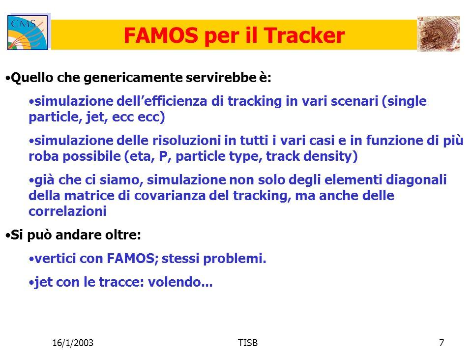 16/1/2003TISB18 FAMOS