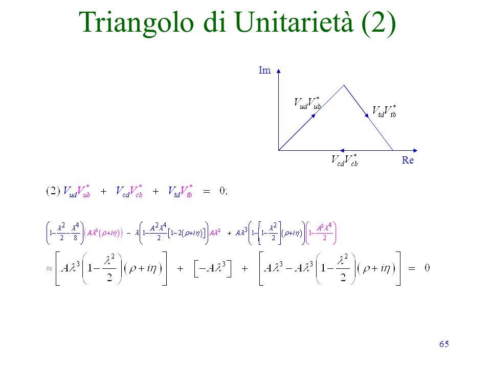 65 Im Re Triangolo di Unitarietà (2)
