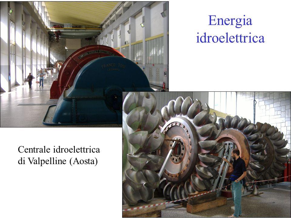Energia idroelettrica Centrale idroelettrica di Valpelline (Aosta)