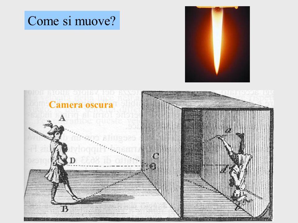 Come si muove? Camera oscura