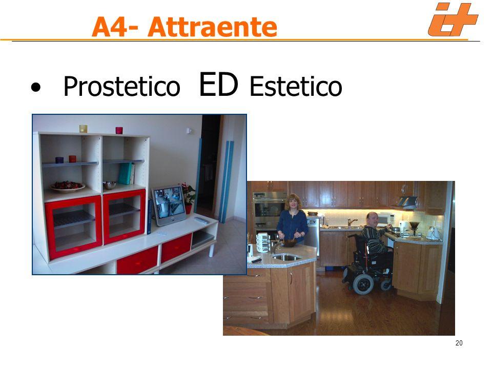 20 A4- Attraente Prostetico ED Estetico