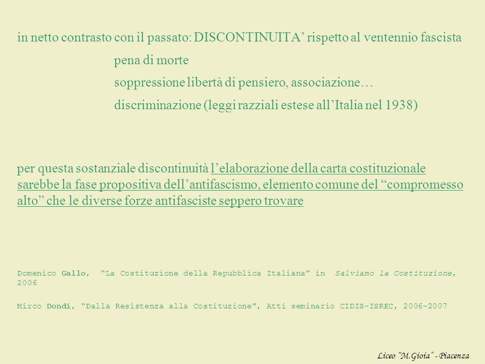 1.PRINCIPIO PERSONALISTA uomo = valore originario e assoluto che deve essere riconosciuto e rispettato dallo Stato diritti fondamentali inviolabili (n