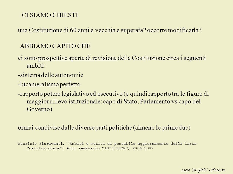 di fronte alle NUOVE COMPLESSITA DEL PRESENTE e nello SCENARIO EUROPEO e GLOBALE la legislazione ordinaria italiana tutela sufficientemente il rispett