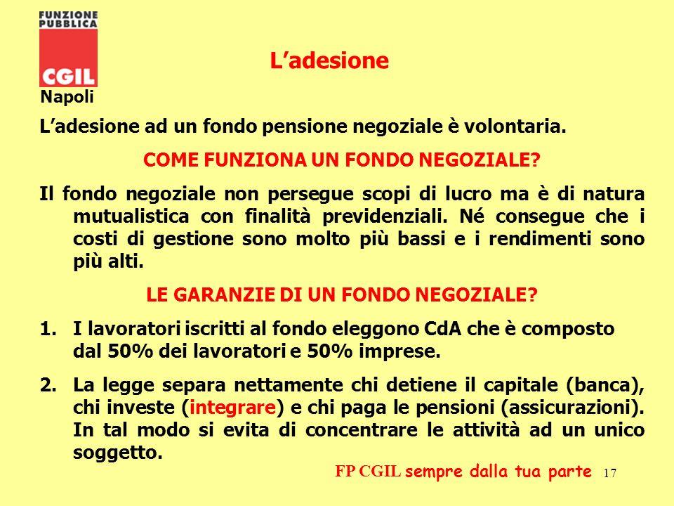 18 Napoli FP CGIL sempre dalla tua parte Le garanzie 3.