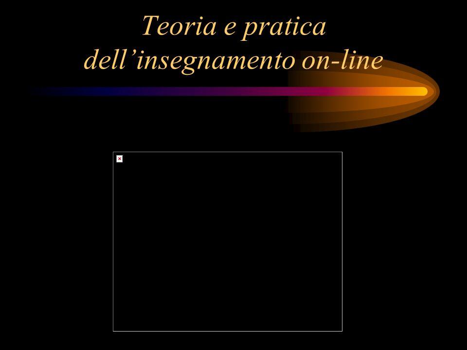 Teoria e pratica dellinsegnamento on-line