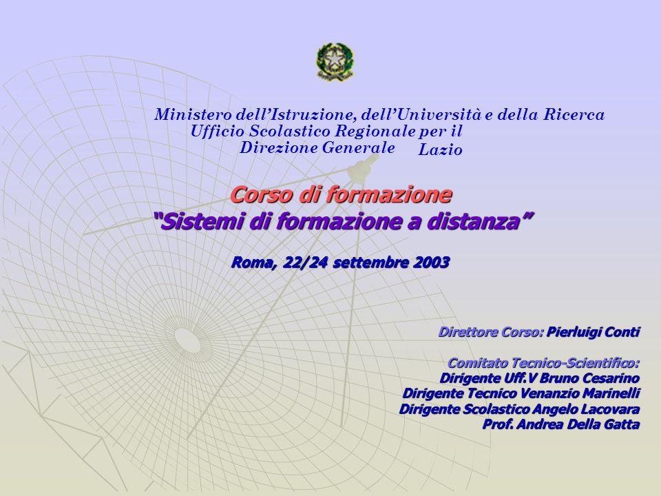 La comunicazione nella struttura dellUfficio Scolastico Regionale per il Lazio Lorganizzazione