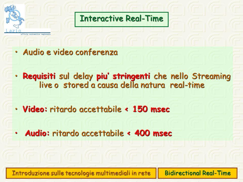 Streaming Streaming Per streaming si intende un flusso di dati continuo.