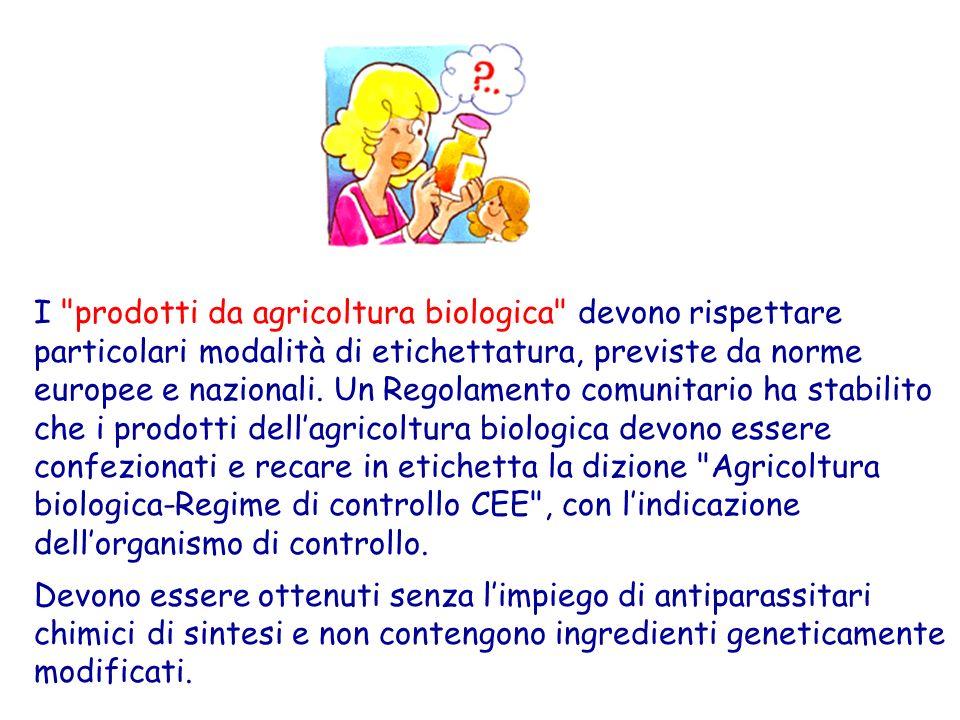 Gli alimenti geneticamente modificati , piu comunemente detti transgenici , devono essere riconoscibili con unappropriata dizione in etichetta o nellelenco degli ingredienti.