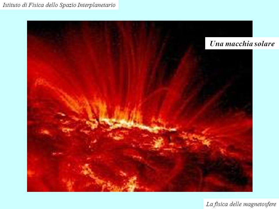 La fisica delle magnetosfere Istituto di Fisica dello Spazio Interplanetario Una macchia solare