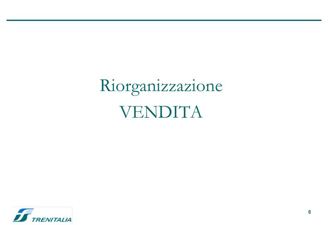 6 Riorganizzazione VENDITA