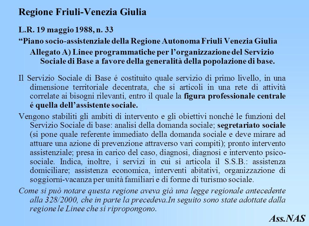 Regione Friuli-Venezia Giulia L.R.19 maggio 1988, n.