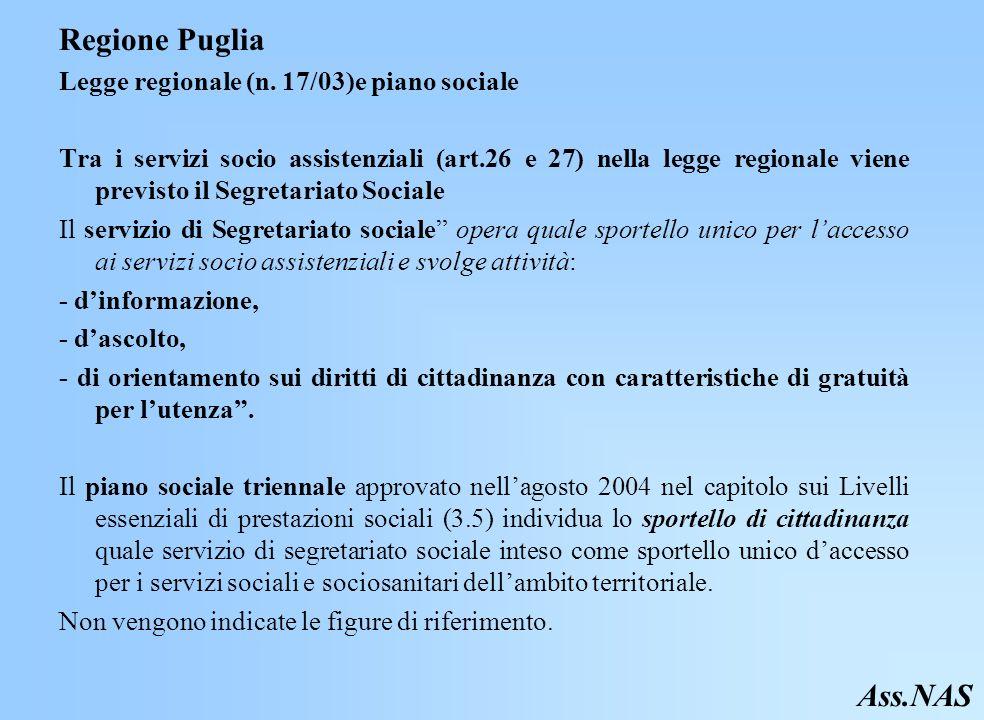 Regione Puglia Legge regionale (n.