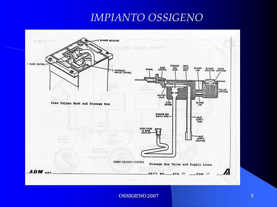 OSSIGENO 20076 IMPIANTO OSSIGENO