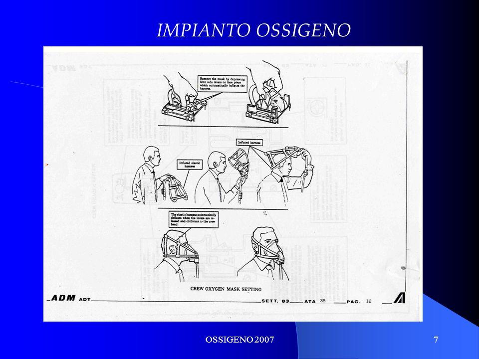 OSSIGENO 20077 IMPIANTO OSSIGENO