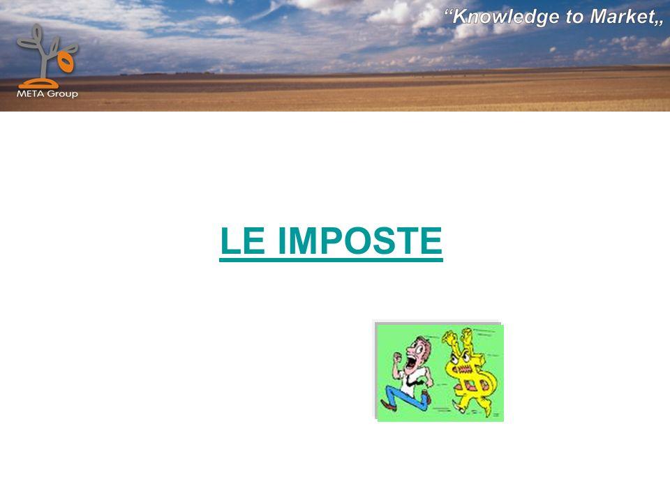 LE IMPOSTE
