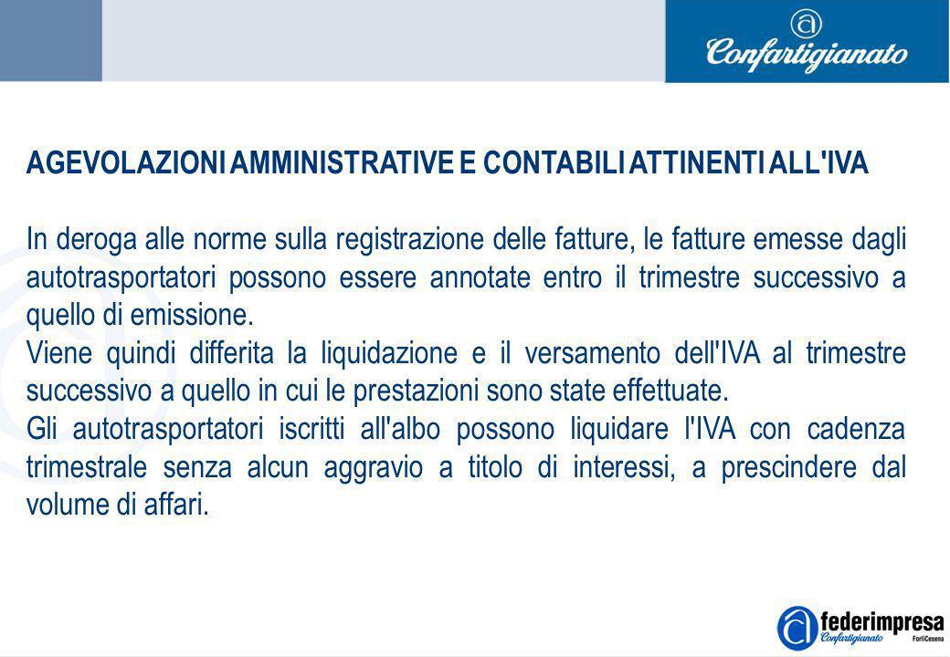 Summer School 4-5 settembre 2006 Enrico Quintavalle – Ufficio Studi Confartigianato 7 AGEVOLAZIONI AMMINISTRATIVE E CONTABILI ATTINENTI ALL'IVA In der