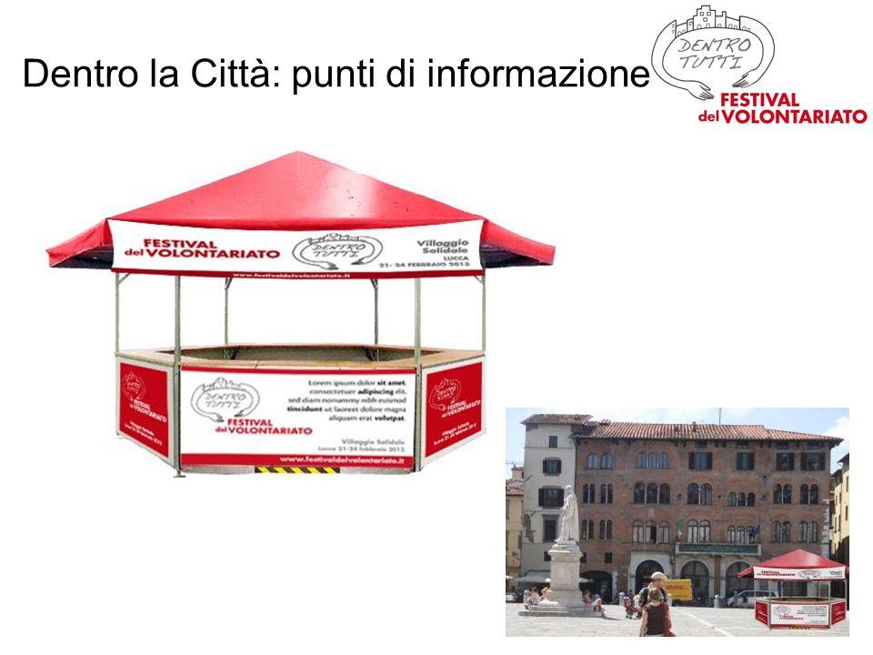 Dentro la Città: punti di informazione