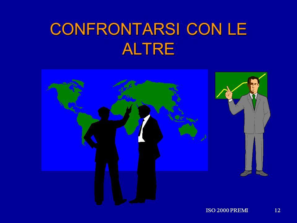 ISO 2000 PREMI12ISO 2000 PREMI12 CONFRONTARSI CON LE ALTRE