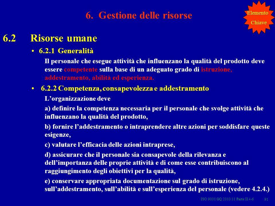 ISO 9001 GQ 2010 11 Parte II 4-6 91 6.
