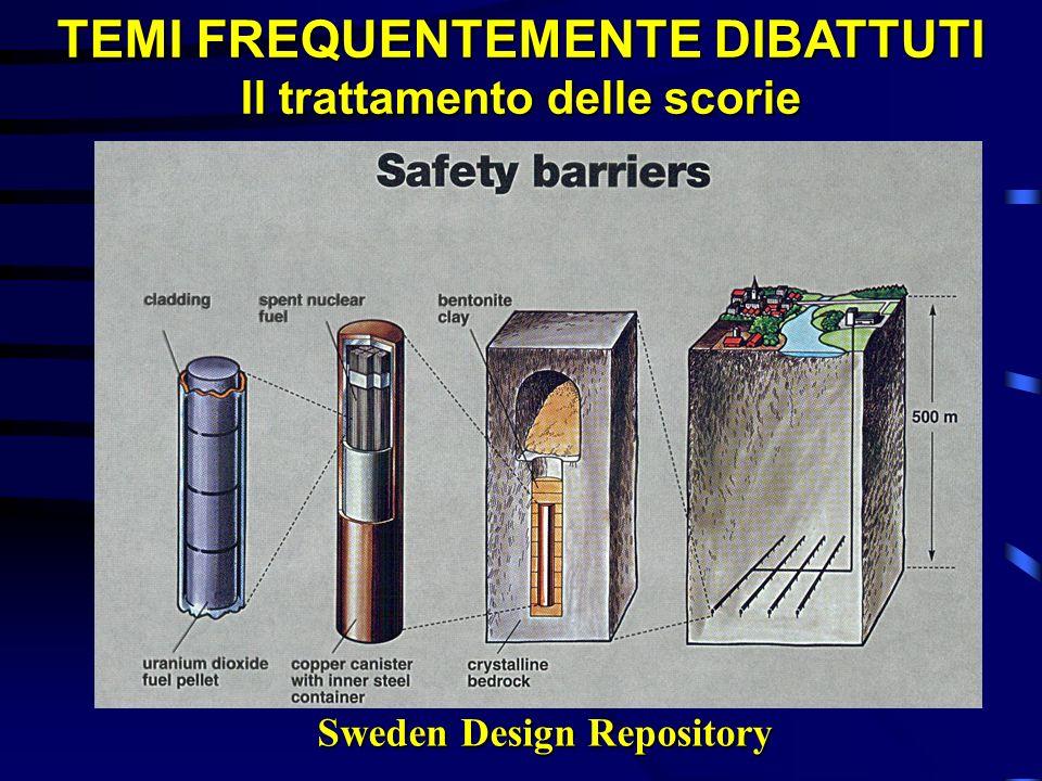 TEMI FREQUENTEMENTE DIBATTUTI Il trattamento delle scorie Sweden Design Repository