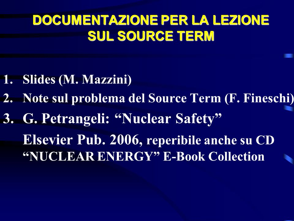Radionuclides Contributions to Risks