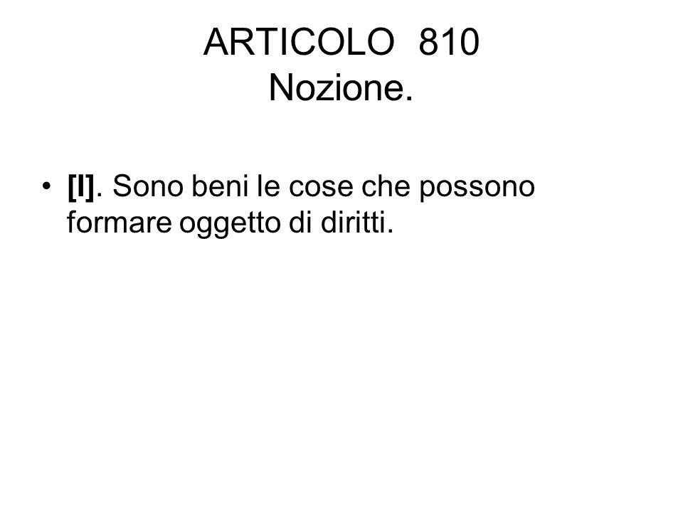 ARTICOLO 2561 Usufrutto dell azienda [I].