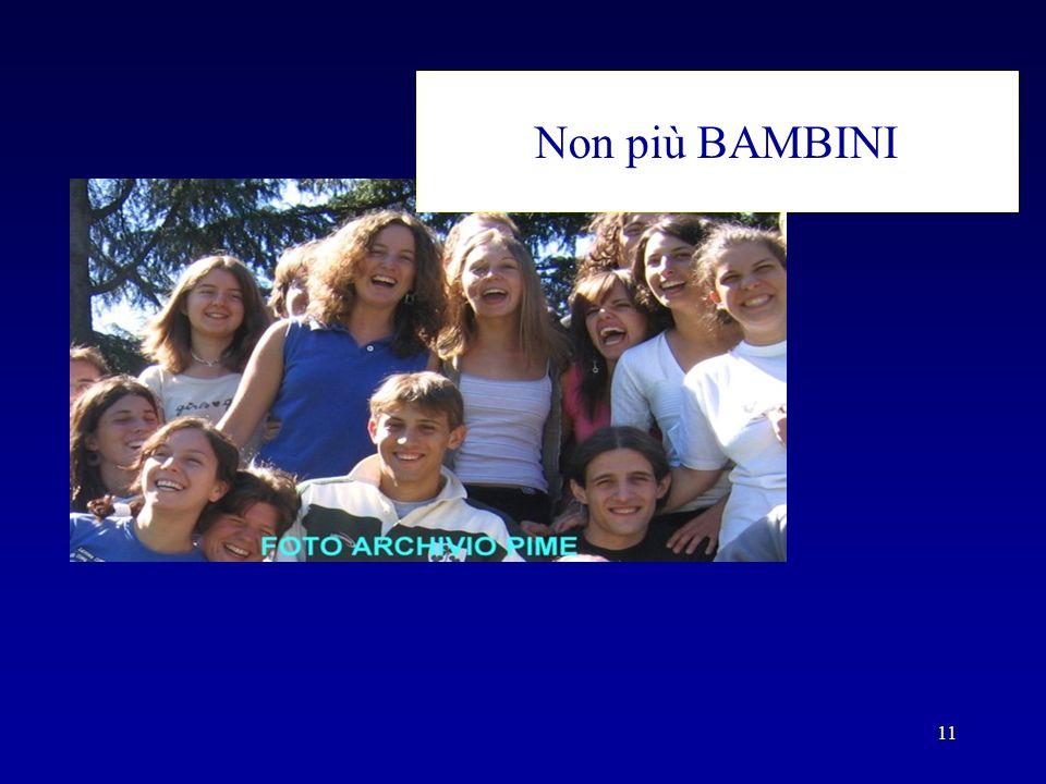 11 Non più BAMBINI