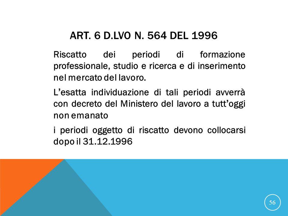 ART.6 D.LVO N.