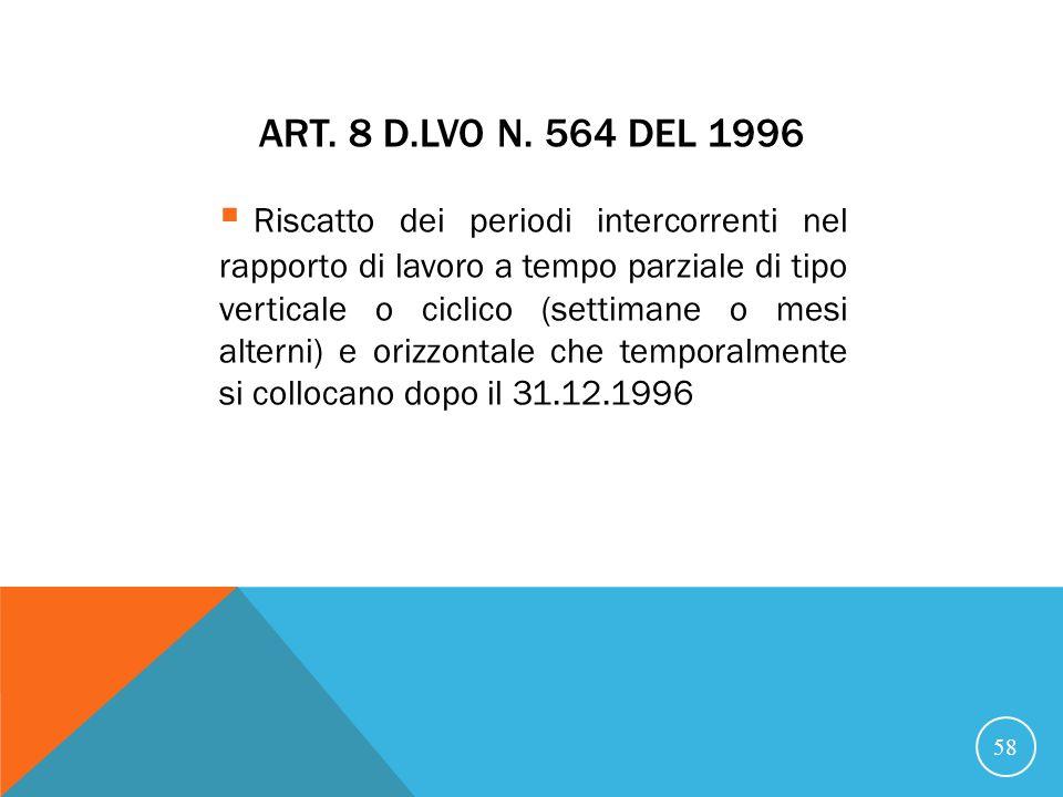 ART.8 D.LVO N.