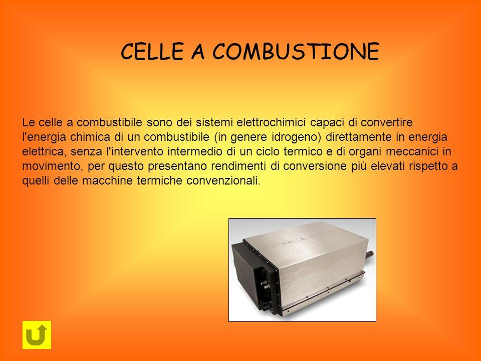 Le celle a combustibile sono dei sistemi elettrochimici capaci di convertire l'energia chimica di un combustibile (in genere idrogeno) direttamente in