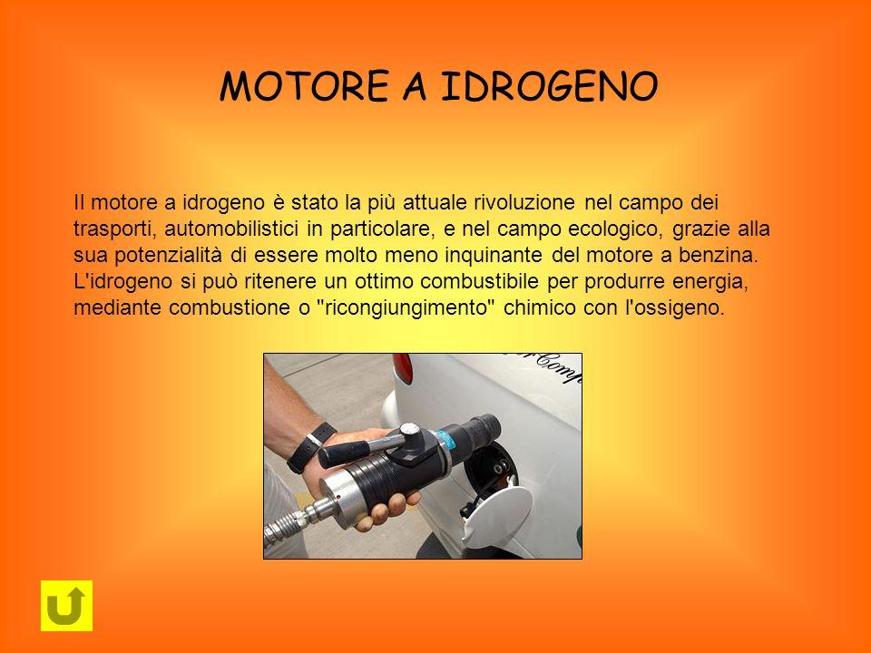 MOTORE A IDROGENO Il motore a idrogeno è stato la più attuale rivoluzione nel campo dei trasporti, automobilistici in particolare, e nel campo ecologi