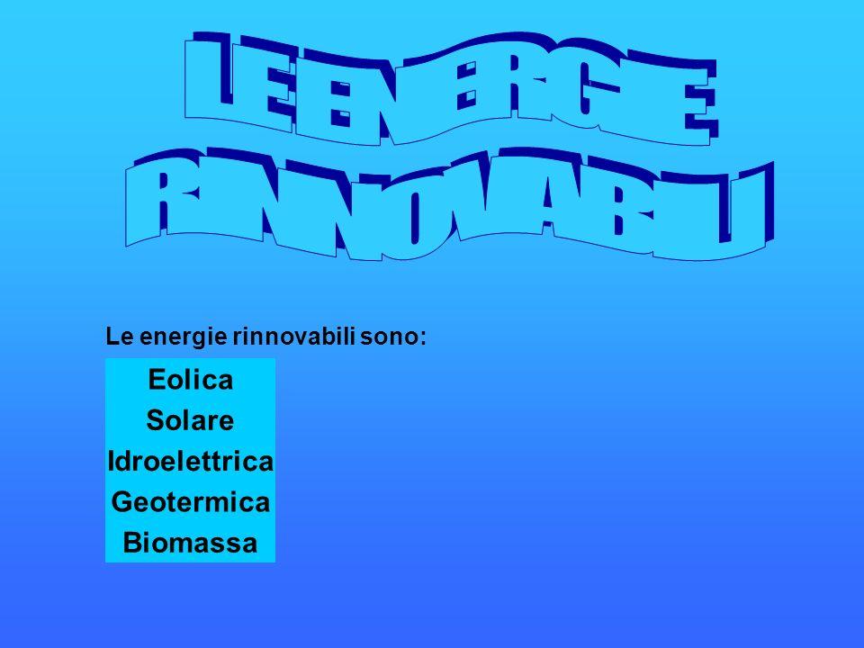 L energia eolica è il prodotto della conversione della energia cinetica del vento in energia elettrica.