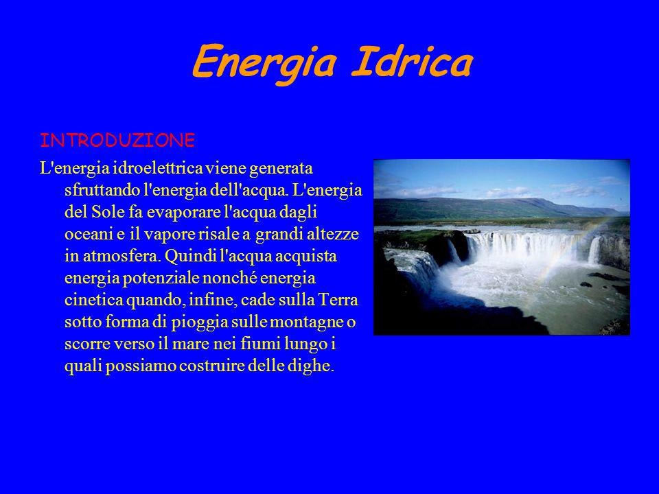 PRO E CONTRO Lenergia idroelettrica è una fonte di energia rinnovabile.