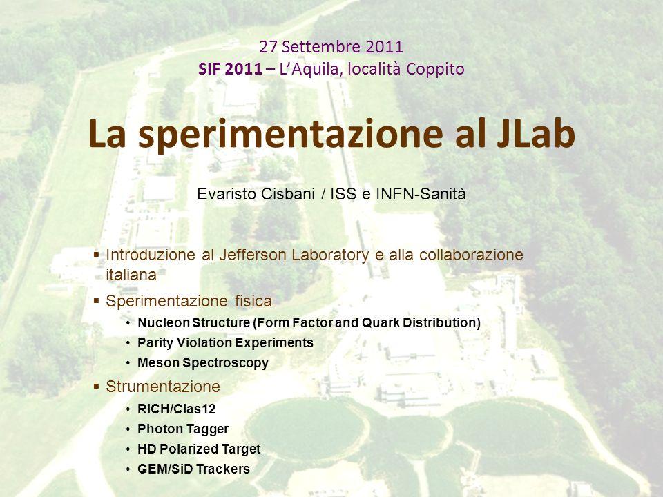SIF 2011 / L AquilaE.