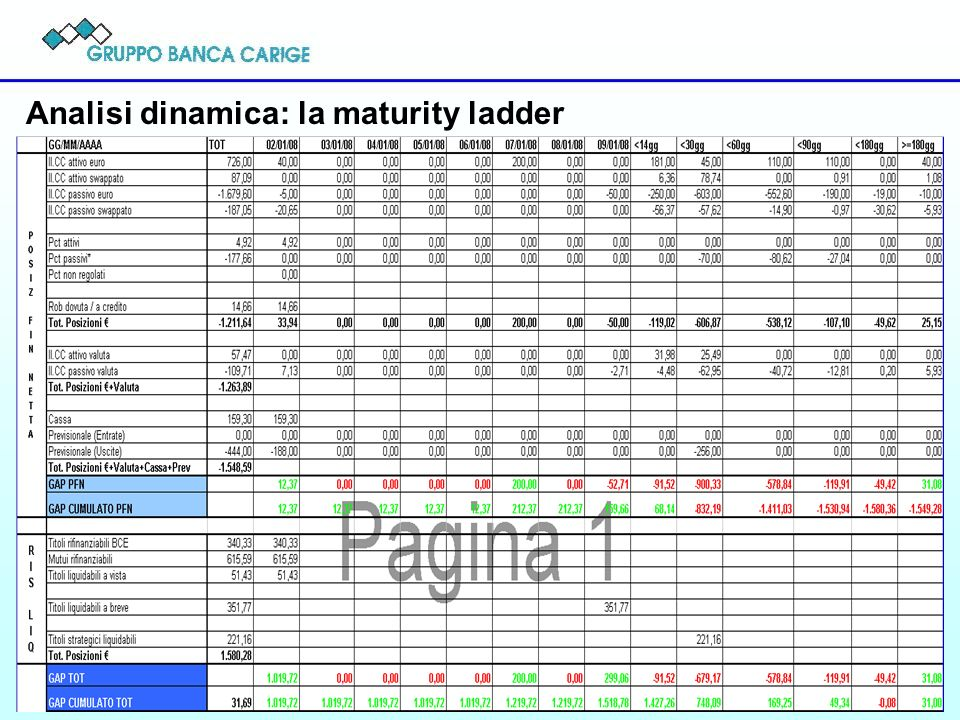 12 Analisi dinamica: la maturity ladder