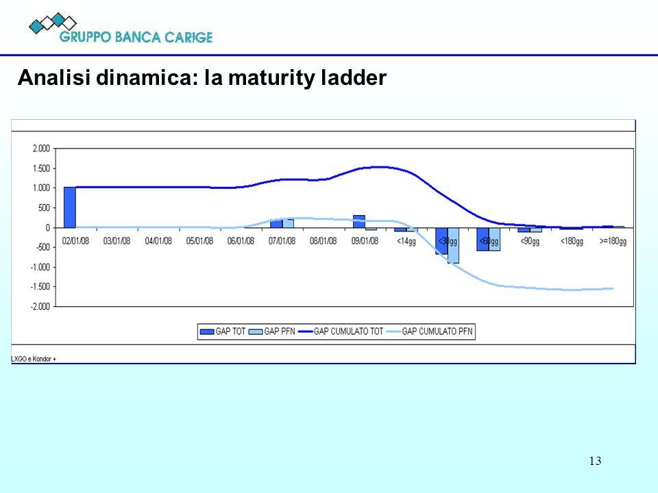 13 Analisi dinamica: la maturity ladder