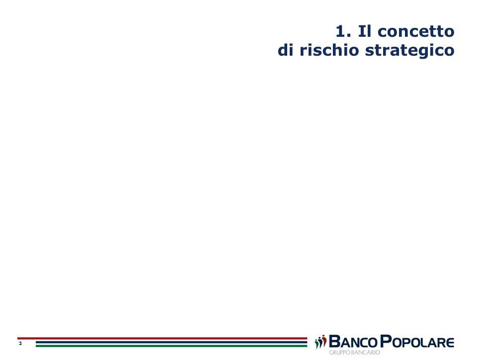 3 1. Il concetto di rischio strategico