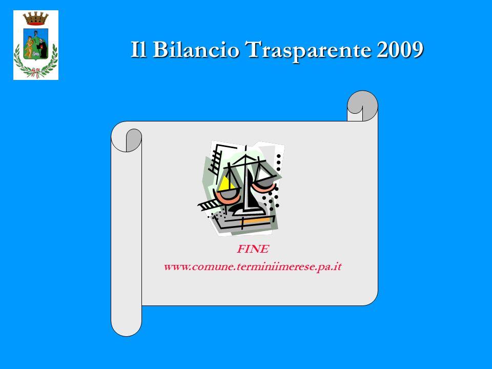 Il Bilancio Trasparente 2009 FINE www.comune.terminiimerese.pa.it