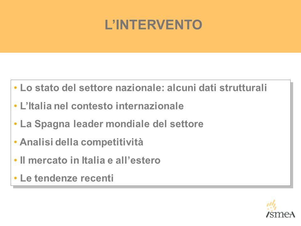 SCENARIO COMPETITIVO DELLINDUSTRIA OLEARIA ITALIANA